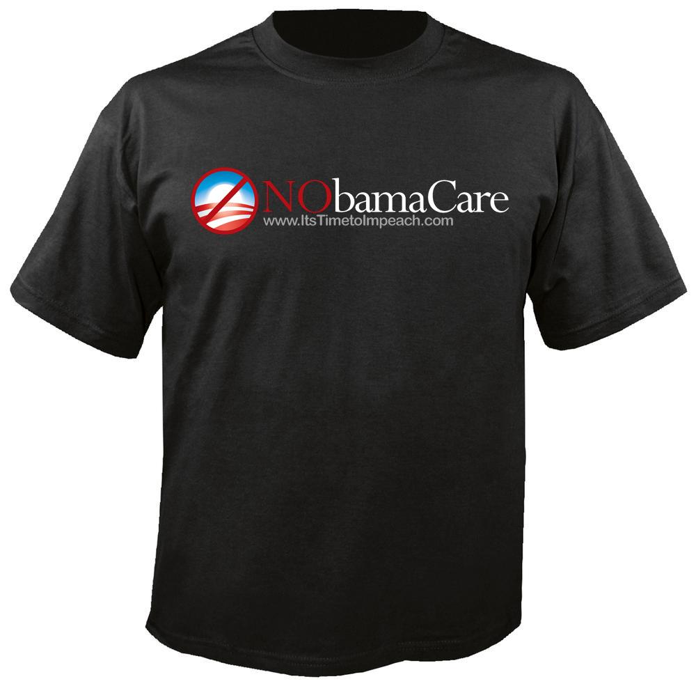 T-Shirt, NoBamaCare