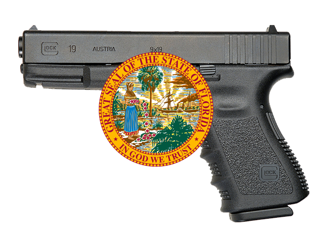 carrying a firearm in your vehicle without a cwp while in florida